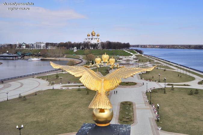 Ярославль с высоты птичьего